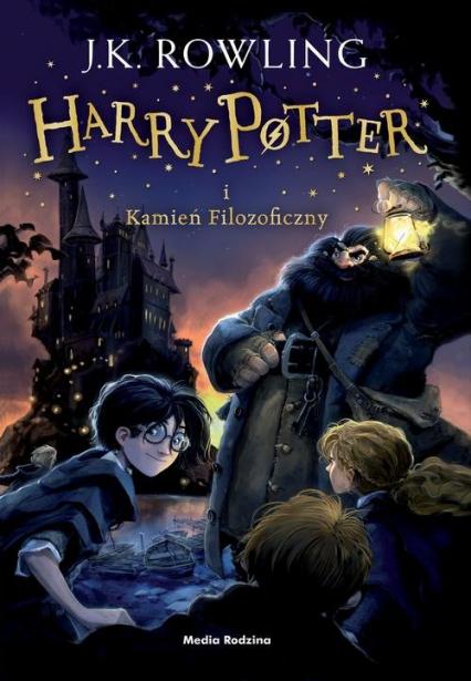Harry Potter i kamień filozoficzny - Joanne K. Rowling  | okładka