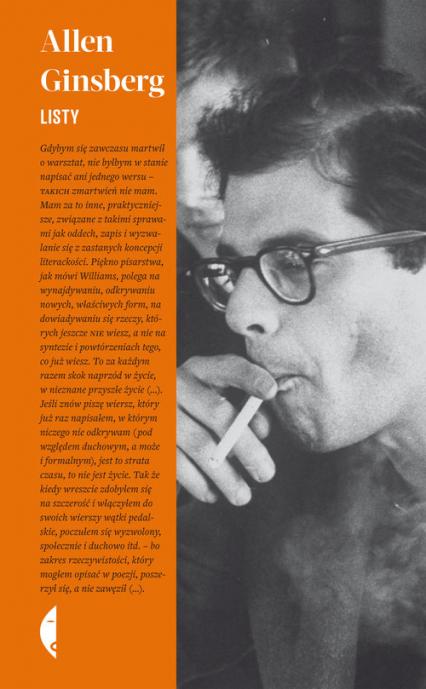 Listy - Allen Ginsberg | okładka