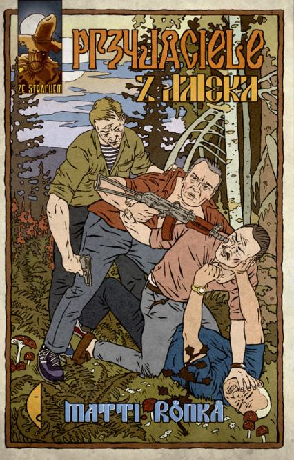 Przyjaciele z daleka - Matti Ronka | okładka