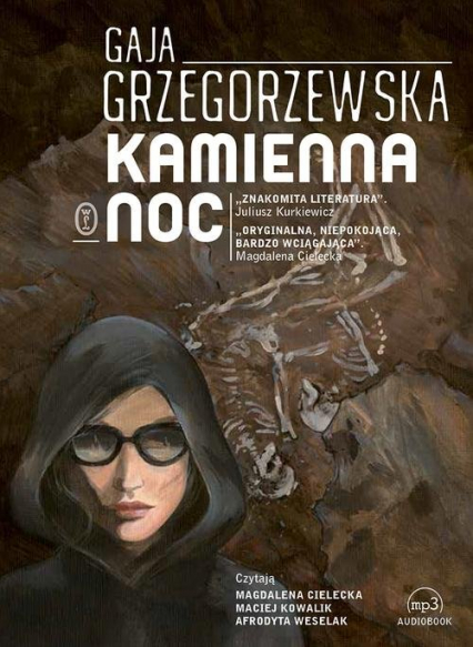Kamienna noc - Gaja Grzegorzewska | okładka
