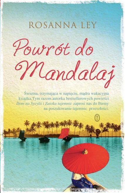 Powrót do Mandalaj - Rosanna Ley | okładka