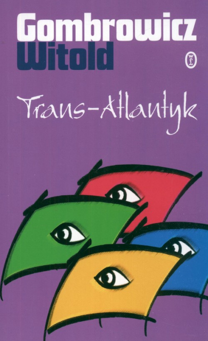 Trans Atlantyk - Witold Gombrowicz   okładka
