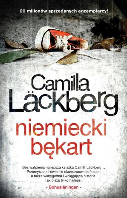 Niemiecki bękart - Camilla Lackberg | okładka