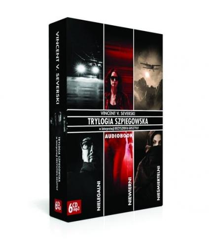 Pakiet. Trylogia Szpiegowska (Audiobook) - Severski Vincent V. | okładka