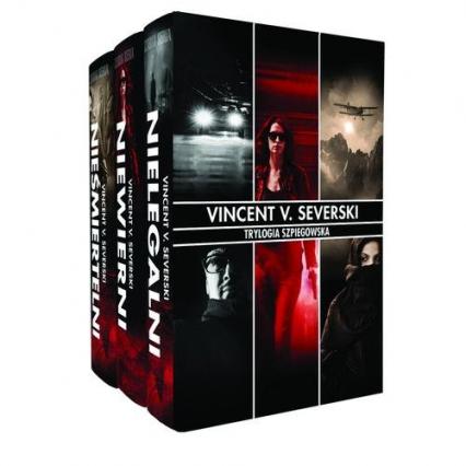 Trylogia Szpiegowska. Pakiet - Severski Vincent V. | okładka