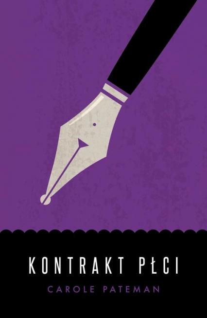 Kontrakt płci - Carole Pateman | okładka