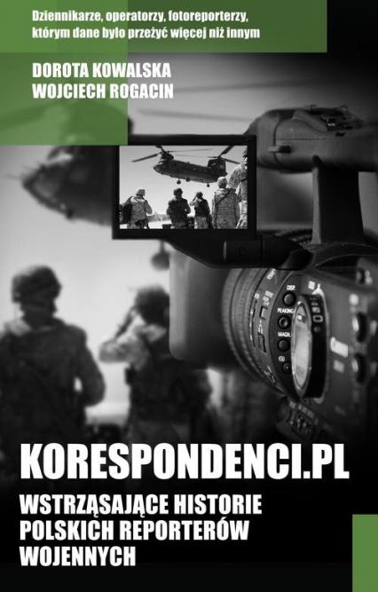 Korespondenci.pl - Kowalska Dorota, Rogacin Wojciech | okładka