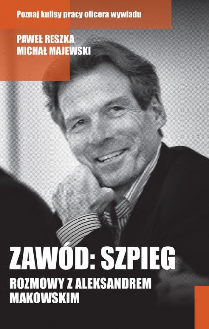 Zawód: szpieg - Reszka Paweł, Majewski Michał   okładka