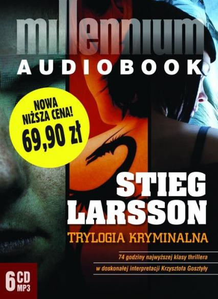Pakiet - Millennium. Trylogia kryminalna mp3 - Stieg Larsson | okładka
