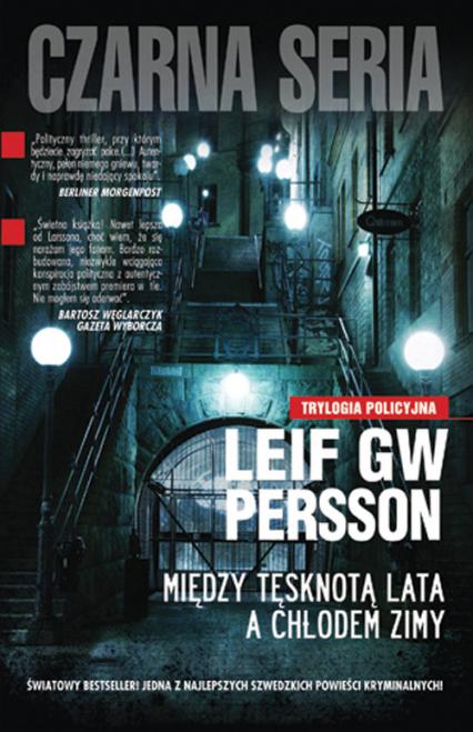 Między tęsknotą lata a chłodem zimy - Persson Leif G. W. | okładka