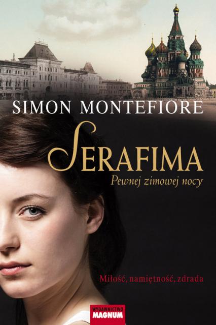 Serafima Pewnej zimowej nocy - Montefiore Simon Sebag | okładka