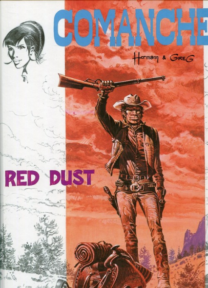 Comanche 1. Red Dust - Michael Greg, Hermann Huppen | okładka