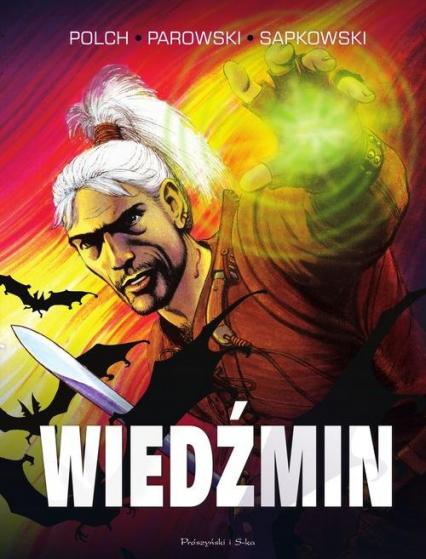 Wiedźmin. Wydanie kolekcjonerskie - Polch Bogusław, Sapkowski Andrzej, Parowski Maciej | okładka