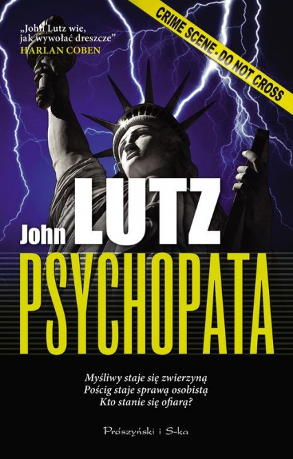 Psychopata - John Lutz | okładka