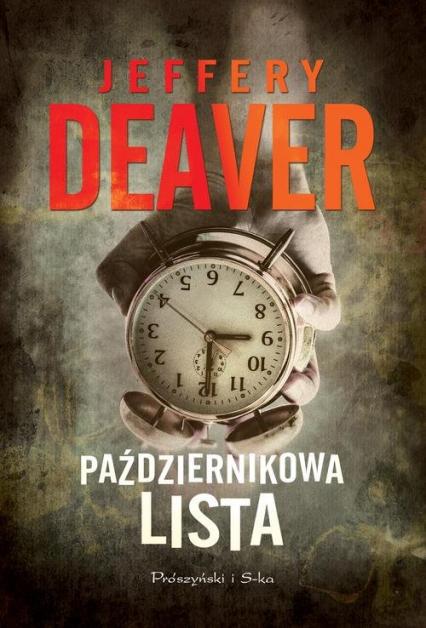 Październikowa lista - Jeffery Deaver | okładka