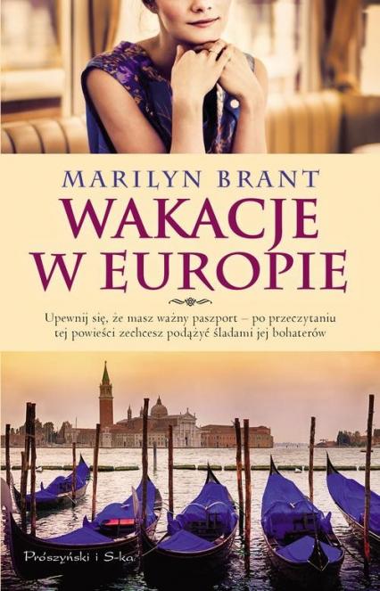 Wakacje w Europie - Marilyn Brant | okładka