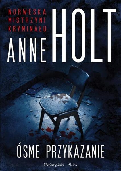 Ósme przykazanie - Anne Holt | okładka
