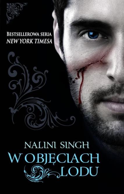W objęciach lodu - Nalini Singh | okładka