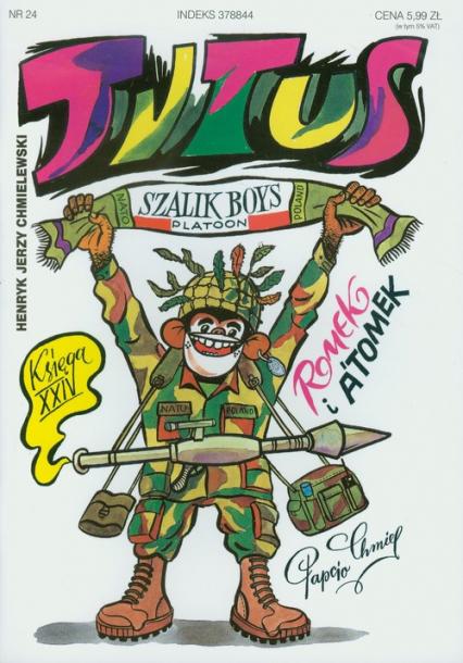 Tytus Romek i Atomek. Księga XXIV. Tytus w NATO - Chmielewski Henryk Jerzy | okładka