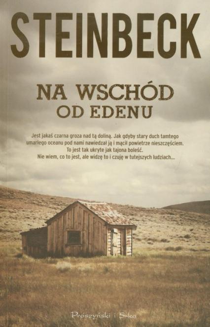 Na wschód od Edenu - John Steinbeck | okładka