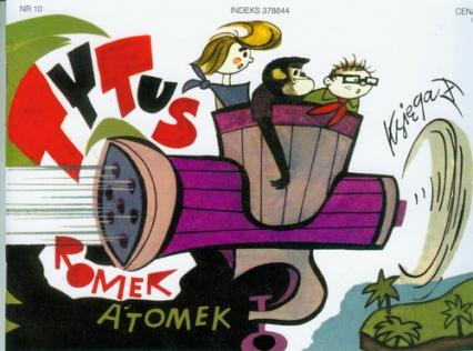 Tytus Romek i Atomek. Księga X. Ochrona przyrody - Chmielewski Henryk Jerzy | okładka