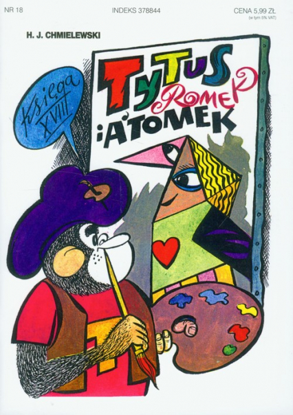 Tytus Romek i Atomek. Księga XVIII - Chmielewski Henryk Jerzy | okładka