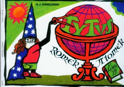 Tytus Romek i Atomek. Księga VIII. Tytus zdobywa sprawność astronoma - Chmielewski Henryk Jerzy | okładka