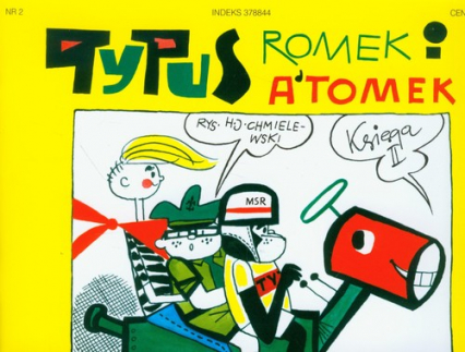 Tytus Romek i Atomek. Księga II. Tytus zdaje na prawo jazdy - Chmielewski Henryk Jerzy | okładka