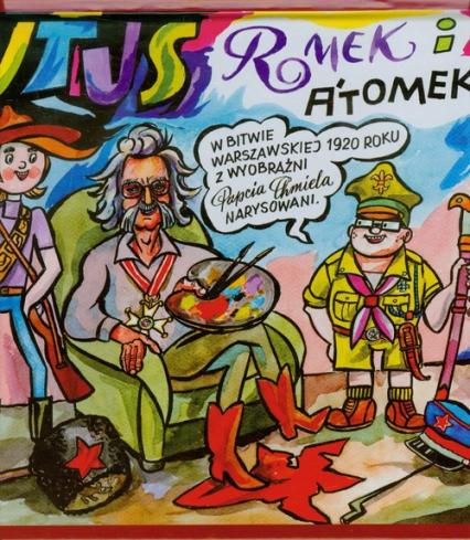 Tytus Romek i Atomek w Bitwie Warszawskiej. 1920 z wyobraźni Papcia Chmiela narysowani - Chmielewski Henryk Jerzy | okładka