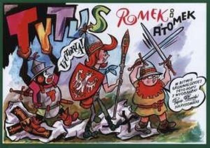 Tytus Romek i Atomek w Bitwie grunwaldzkiej 1410 roku - Chmielewski Henryk Jerzy | okładka
