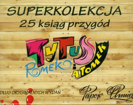 Tytus Superkolekcja. Tom 1-25. Pakiet - Chmielewski Henryk Jerzy | okładka