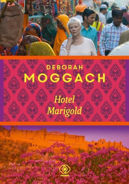 Hotel Marigold - Deborah Moggach   okładka