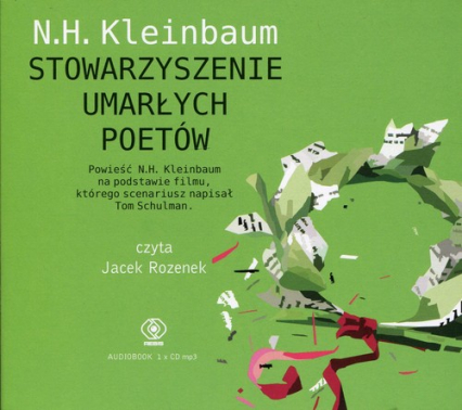 Stowarzyszenie umarłych poetów - N.H. Kleinbaum   okładka