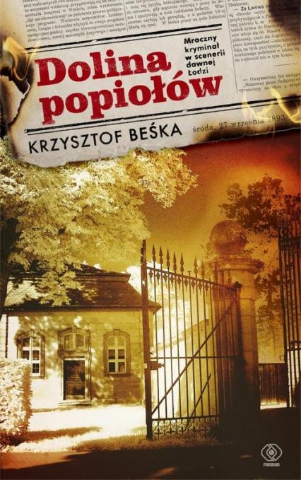 Dolina popiołów - Krzysztof Beśka   okładka