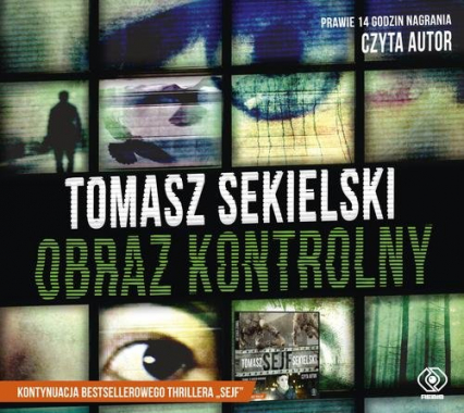 Obraz kontrolny. Audiobook - Tomasz Sekielski | okładka