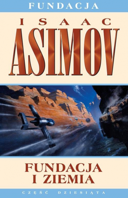 Fundacja i Ziemia - Isaac Asimov | okładka