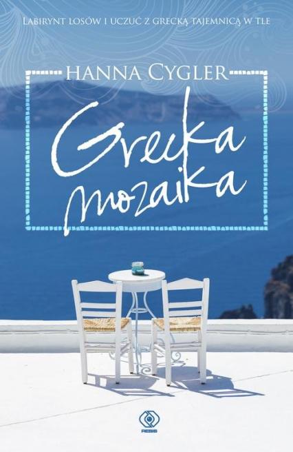 Grecka mozaika - Hanna Cygler | okładka