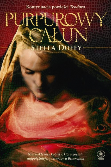 Purpurowy całun - Stella Duffy | okładka