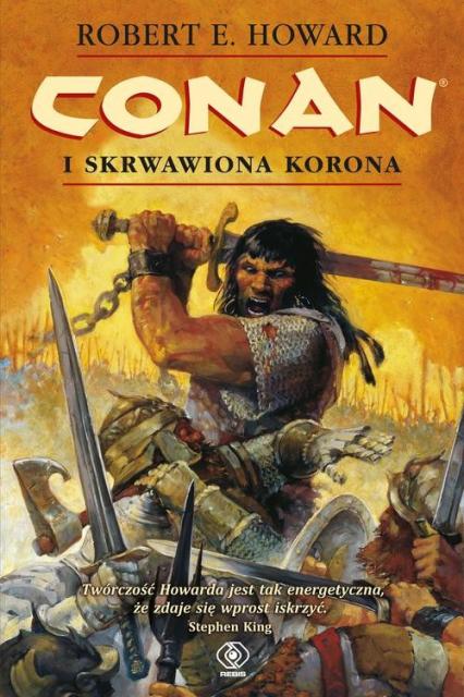 Conan i skrwawiona korona - Howard Robert E. | okładka