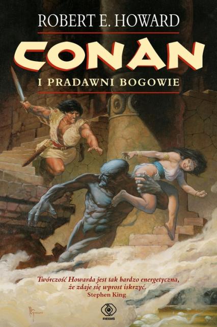 Conan i pradawni bogowie. Tom 1 - Howard Robert E. | okładka