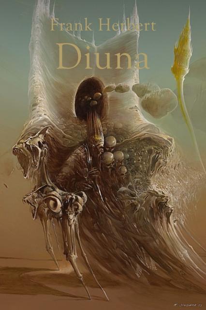 Diuna - Frank Herbert | okładka