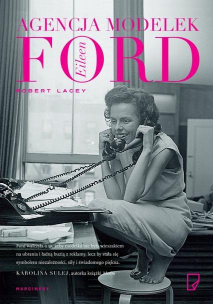 Agencja modelek Eileen Ford - Robert Lacey | okładka