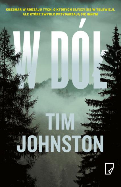 W dół - Tim Johnston | okładka