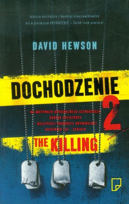 Dochodzenie II - David Hewson | okładka