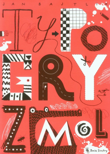 Typogryzmol - Jan Bajtlik   okładka