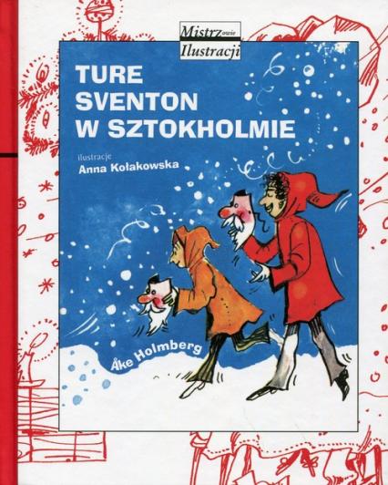 Ture Sventon w Sztokholmie - Ake Holmberg | okładka