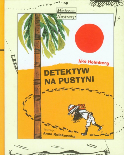 Detektyw na pustyni - Ake Holmberg | okładka