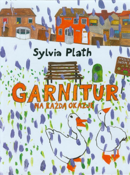 Garnitur na każdą okazję - Sylvia Plath | okładka