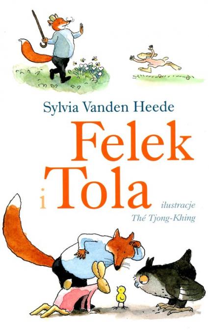 Felek i Tola - Vanden Heede Sylvia   okładka