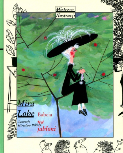 Babcia na jabłoni - Mira Lobe   okładka